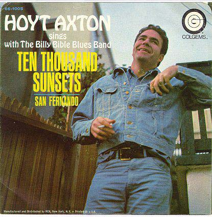 axton singles One more round (a 45 rpm single with greenback dollar on the flip side, recorded in the early '60s) horizon 362  the first one was hoyt axton guitar,.